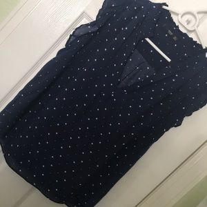Mango sleeveless blouse. Size 4